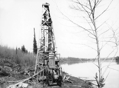 Athabasca's first Gas Well