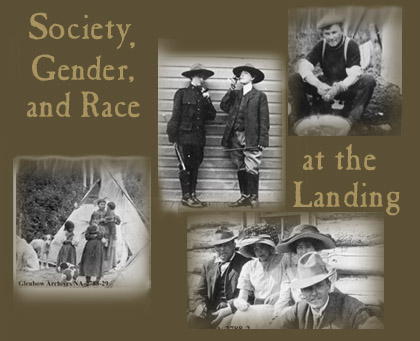 Society, Gender, and Race at the Landing